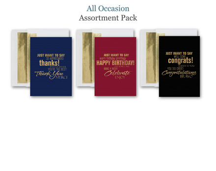 Fresh Mix of 30 All Occasion Cards